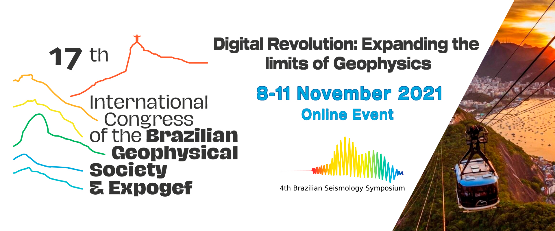 17th International Congress of the Brazilian Geophysical Society and EXPOGEf