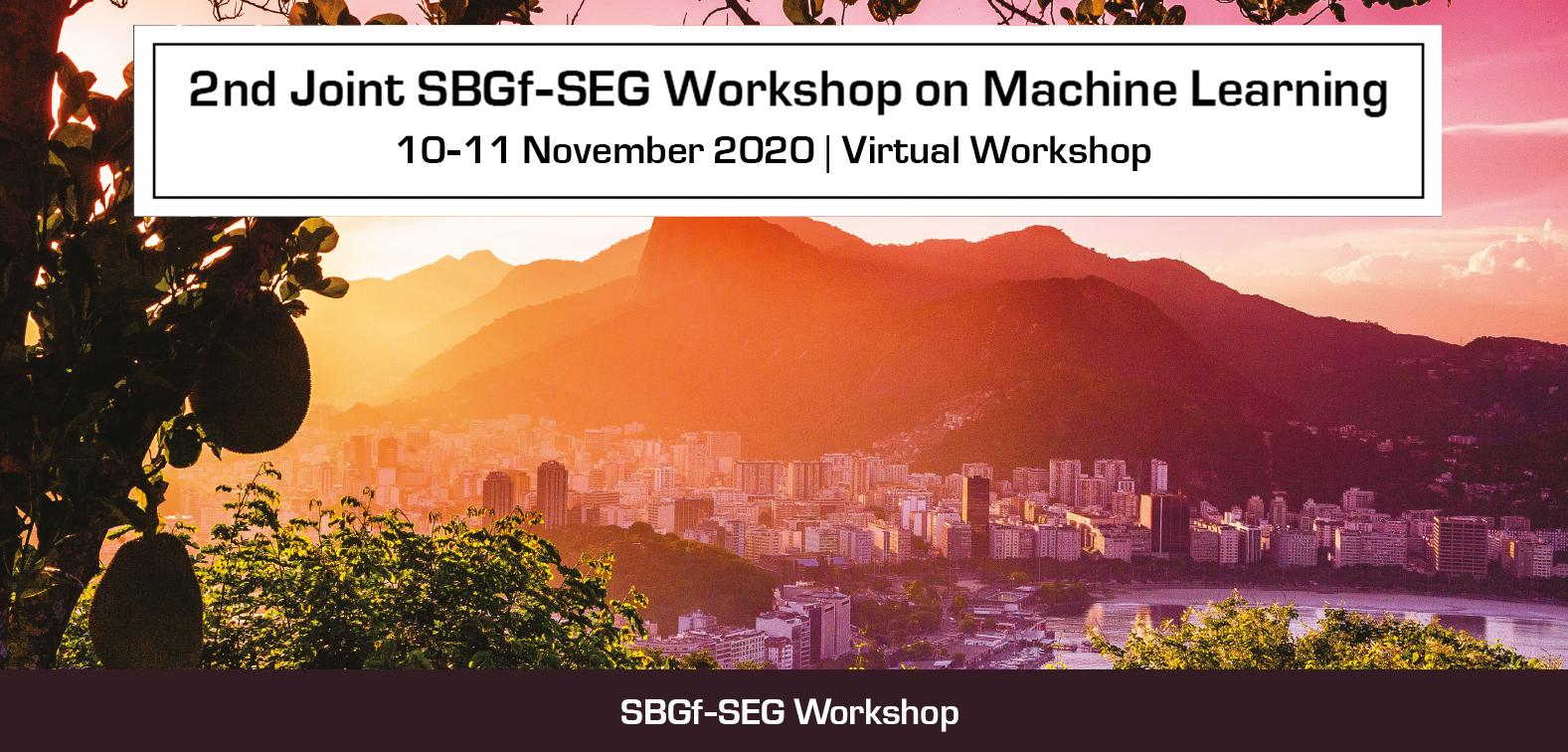 2nd SBGf-SEG Machine Learning Workshop